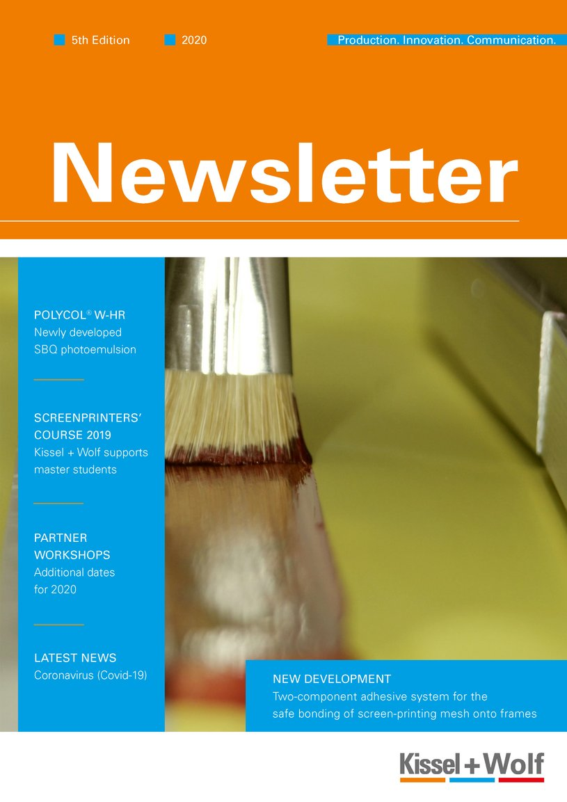 Newsletter Kissel + Wolf 5th Edition Seite 1